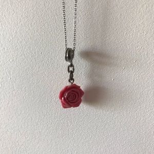5/$10 Pink Rose Necklace